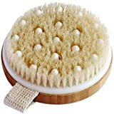 C.S.M. Body Brush for Wet or Dry Brushing - Gentle Exfoliating for Softer, Glowing Skin - Get Rid of Your...