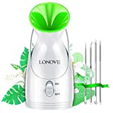 Facial Steamer - Upgraded Face Steamer for Facial Deep Cleaning Professional Face Humidifier Moisturizing Warm...
