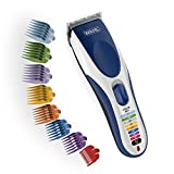 Wahl Color Pro Cordless Rechargeable Hair Clipper & Trimmer – Easy Color-Coded Guide Combs - for Men, Women...