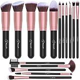 BESTOPE Makeup Brushes 16 PCs Makeup Brush Set Premium Synthetic Foundation Brush Blending Face Powder Blush...