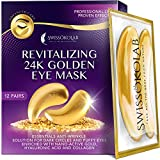 Under Eye Patches For Puffy Eyes 24k Gold Eye Mask For Dark Circles And Puffiness Collagen Eye Gel Pads...