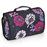 Hanging Travel Organizer Toiletry Bag, Cosmetic and Makeup Bag for Women, Ideal Shower Organizer Personal Care...