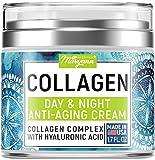 Maryann Organics Collagen Cream - Anti Aging Face Moisturizer - Day & Night - Made in USA - Natural Formula...